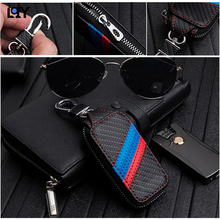 LQY Car Styling car Key package for BMW X3 X4 M3 M4 M5 E34 E90 E60 E36 bmw 520 525 f30 f10 F18 118i 320i Carbon brazing