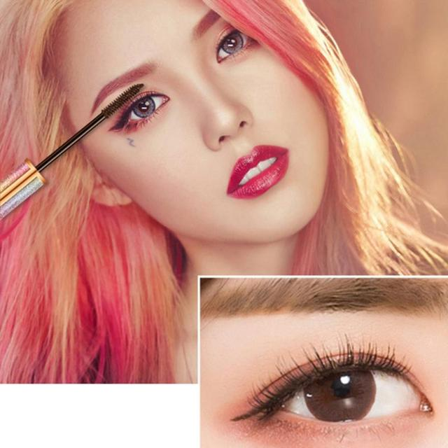 Starry Mascara 4d Eyelash Mascara Waterproof Long Black Lash Eyelash Extension Eye Lashes Brush smudge-proof Long-wearing TSLM 2