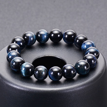 Fashion 6mm 8mm 10mm 12mm Royal Blue Tiger eyes Beads Bracelet Men Charm Natural Stone Braslet For Man Handmade Jewelry Pulseras fashion obsidian tiger eye stone bracelets for men new natural stone beads man bracelet men charm yoga jewelry gift 2020 pulsera