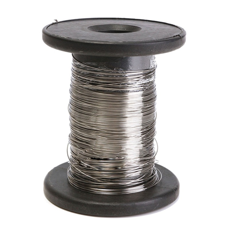 WSFS Hot 30M 304 Stainless Steel Wire Roll Single Bright Hard Wire Cable, 0.6Mm