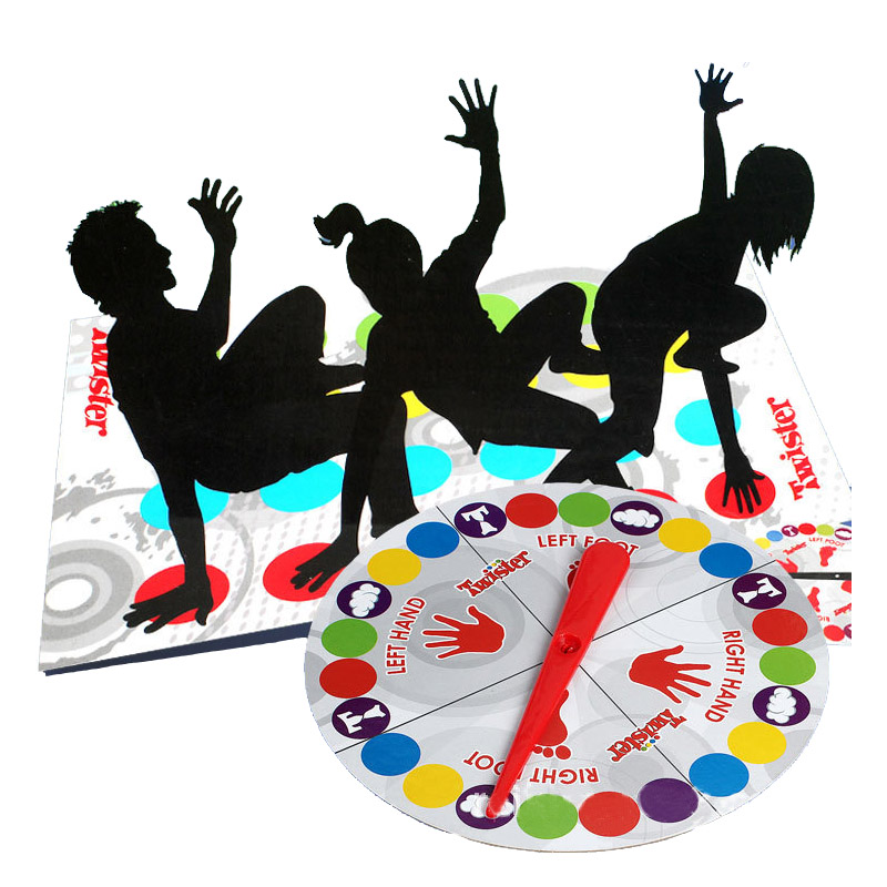 Outdoor Sport Toy Gift Twister Game Funny Kid Family Body Twister Moves Play Mat Twisting Game Group