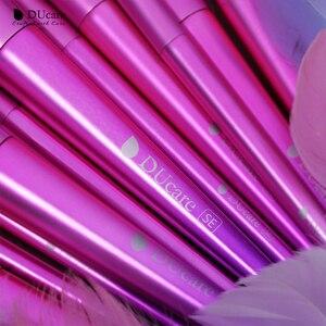 Image 3 - DUcareแปรงแต่งหน้า15PCS Professional Synthetic Hairสำหรับแต่งหน้าอายแชโดว์Foundation Blush Set Beauty Necessity