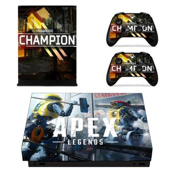 APEX Legends Full Cover Skin Console & Controller Decal Stickers for Xbox One X Skin Stickers Vinyl 2