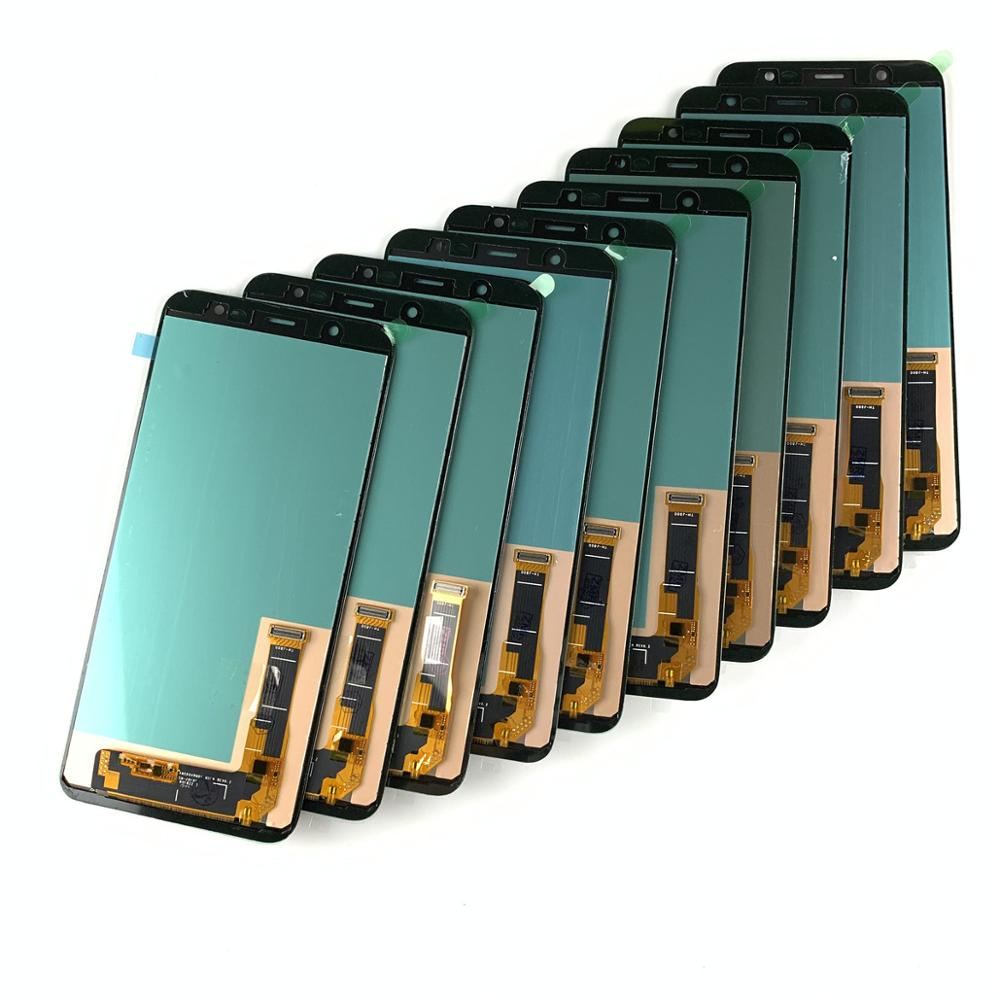 10Pieces/lot TFT Incell For <font><b>Samsung</b></font> <font><b>J8</b></font> <font><b>2018</b></font> J810F Touch Screen Digitizer Display <font><b>LCD</b></font> For <font><b>Samsung</b></font> Galaxy J810Y/DS J810G/DS j810 image