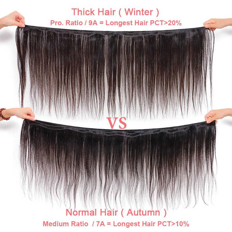 """علي الملكة منتجات الشعر موجة عميقة البرازيلي حزم الشعر اللون الطبيعي 12 """"-30"""" 100% شعر بشري غير مُعالج نسج حزم"""