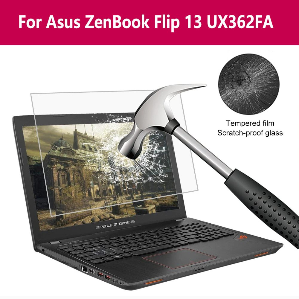 For Asus Zenbook Flip 13 Ux362fa Protective Glass Film Screen Protector Tempered Glass 9H HD