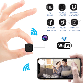 1080P HD Wifi Mini Camera Night Vision Motion Detect P2P IP Micro Cam Secret Camcorder Video Recorder Support Hidden TF Card