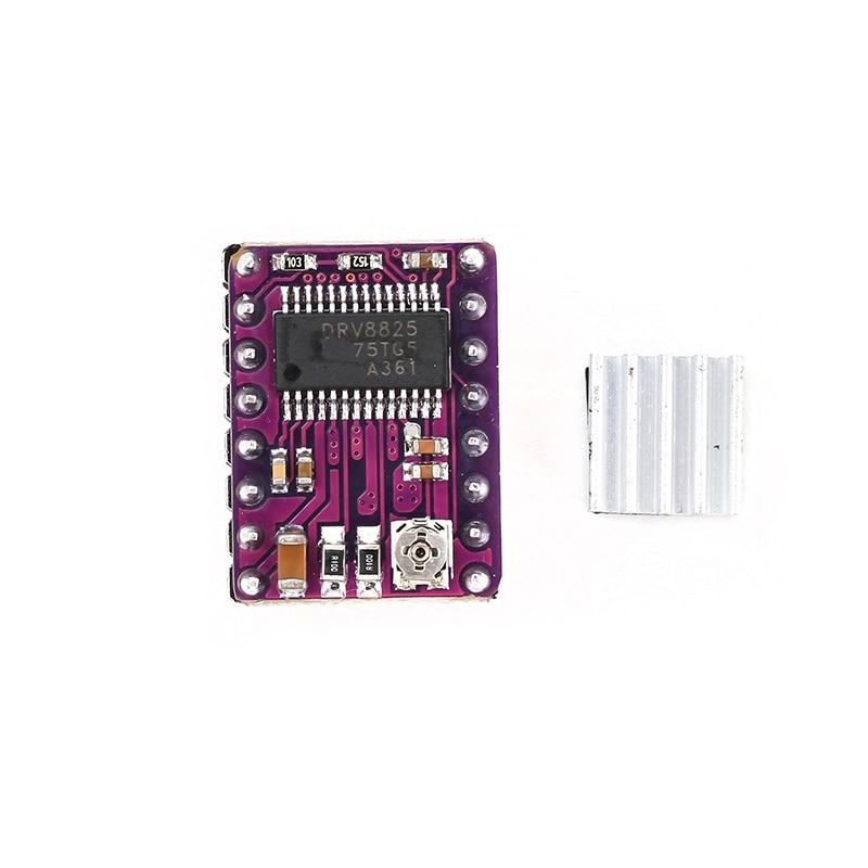 3D Printer StepStick DRV8825 Stepper Motor Driver Reprap 4-Layer PCB Board for DIY Robot Project Educational Toy Parts