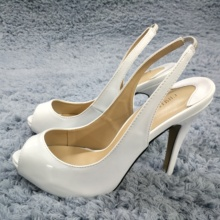 Sexy White Patent Pumps High Heel Popular Dress Party Women