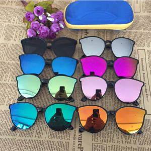 Children Sunglasses Oculos-De-Sol Toddler Girls Kids Brand Cat-Eye Infantil Boys