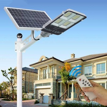 LED Street Light Waterproof Solar Garden Light Solar LED Street Lamp Outdoor Solar Night Light 300W 200W 100W 50W 30W 20W 1