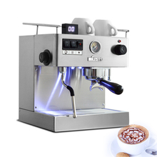 220V semi-automatic coffee machine stainless steel Commercial EM-19-M2 Italian coffee making machine Espresso coffee maker 1PC