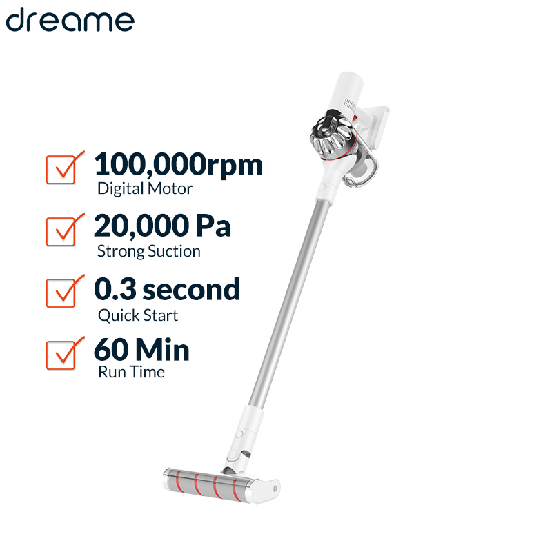 Dreame V9P Handheld Wireless Vacuum Cleaner 20Kpa Portable Cordless Cyclone Filter Carpet Dust Collector Carpet Sweep vacuum