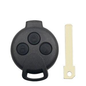 Image 4 - KEYYOU 3ปุ่มรีโมทกุญแจรถสำหรับ Mercedes Benz Smart Fortwo 451 2007 2008 2009 2010 2011 2012 2013 433Mhz ID46