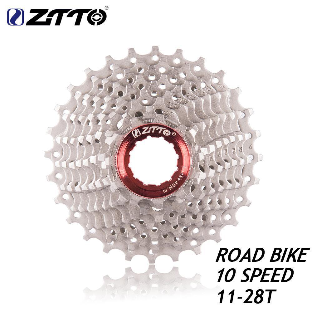 GloryStar 10s Cassette 11-28 T Freewheel Bicycle Parts 10s Flywheel for Road Bike Bicycle Rear Teeth Wheel