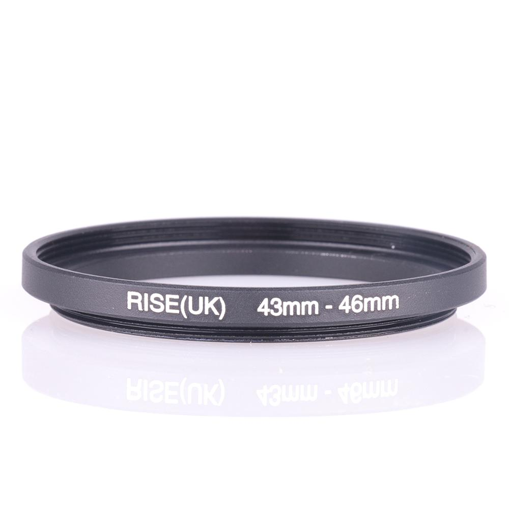 RISE(UK) 43mm-46mm 43-46 Mm 43 To 46 Step Up Filter Ring Adapter