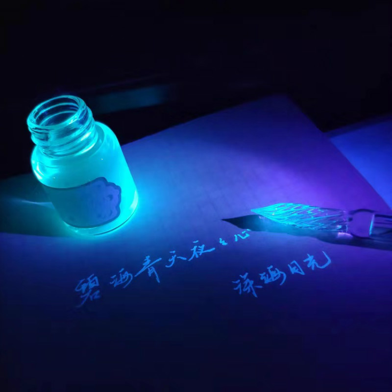 Invisible Ink Luminous Fluorescent Transparent Starry Ink