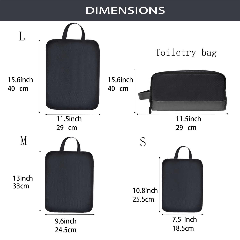 Soperwillton bolsa de viagem para homens e mulheres, nova bolsa de viagem organizadora para bagagem e empacotamento, #2020, 90034