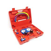R134A HVAC A/C Refrigeration Kit AC Manifold Gauge Set Car A