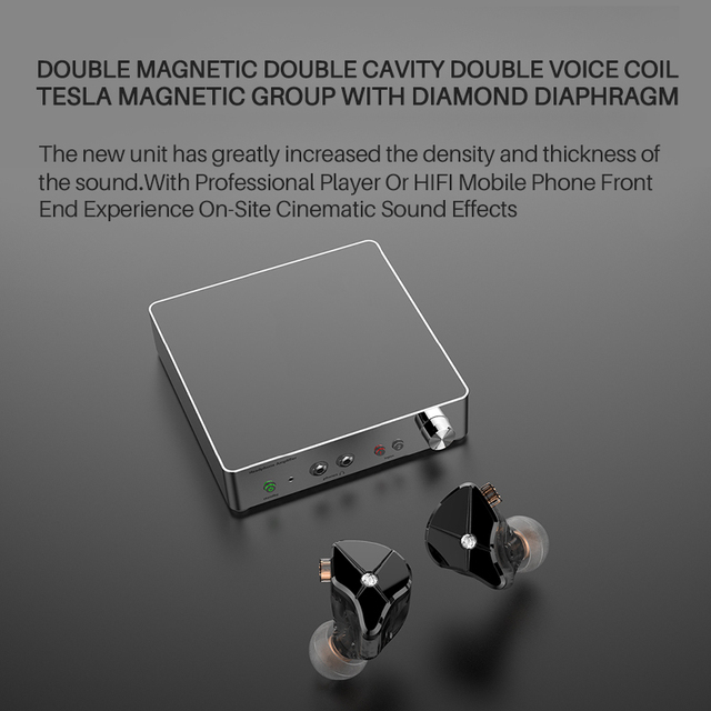 TFZ QUEEN LTD HiFi Audio Dual Cavity Dynamic Driver In-ear Earphone 2 Pin 0.78mm Detachable Cable 3rd Generation Tesla Unit 4