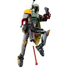 Star Wars Monteren Figuur Boba Fett Sandtrooper Stormtrooper Darth Vader Chewbacca Action Figure Christmas Gift Speelgoed Voor Kinderen