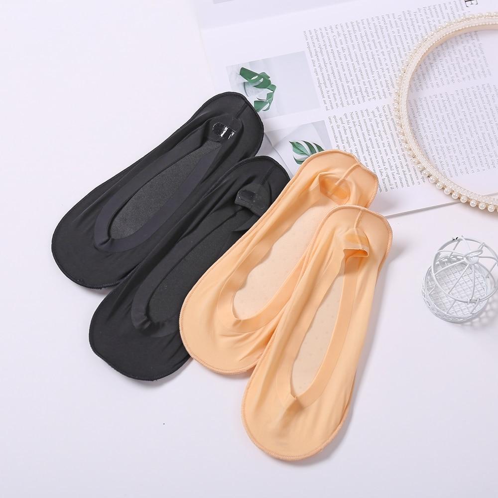 Ice Silk 3D Socks Women Health Care Massage Sponge Socks New  Breathable Non-Slip Invisible Sock Comfortable Not Tired Feet