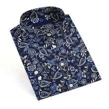 Dioufond floral camisas femininas blusas blusa de algodão blusa feminina camisa de manga longa das mulheres topos e blusas 2016 nova moda 5xl
