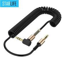 3.5mm cabo de áudio 3.5mm linha alto-falante 3.5mm aux cabo para iphone 6 samsunggalaxy s8 carro fone de ouvido xiaomi redmi 4x áudio jack