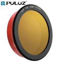 Puluz nd8/nd16/nd64/nd1000 filtro de lente da câmera para acessórios da ação de dji osmo