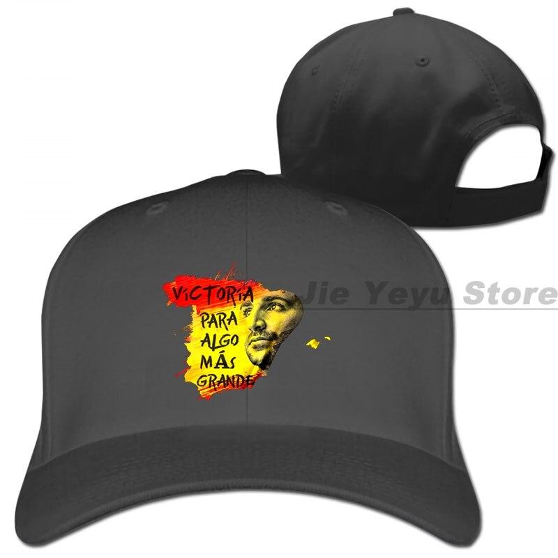 Gorra de béisbol limitada para hombre y mujer, gorro de béisbol ajustable con diseño de fruncido Algo Mas Grande
