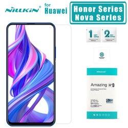 Nillkin dla Huawei Honor 9X Pro 9X20 Pro 20 10 Lite 9 8 szkło hartowane H + PRO ochraniacz ekranu dla Huawei Nova 5i Pro 5 4 szklane