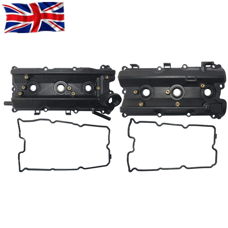 AP02 New Left & Right Engine Valve Covers For Infiniti Nissan 350z G35 FX35 M35 V6 3.5L 13264-AM610 13264-AM600
