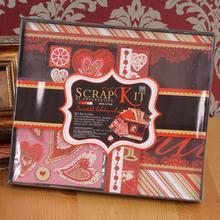 Детский креативный фотоальбом подарок на день Святого Валентина Keepsake комплект для альбома