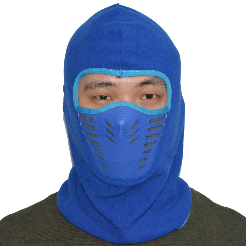 2017 Winter Warmer Cycling Face Mask Windproof Dust-proof Fleece Bike Full Face Scarf Mask Neck Bicycle Snowboard Ski Mask (3)