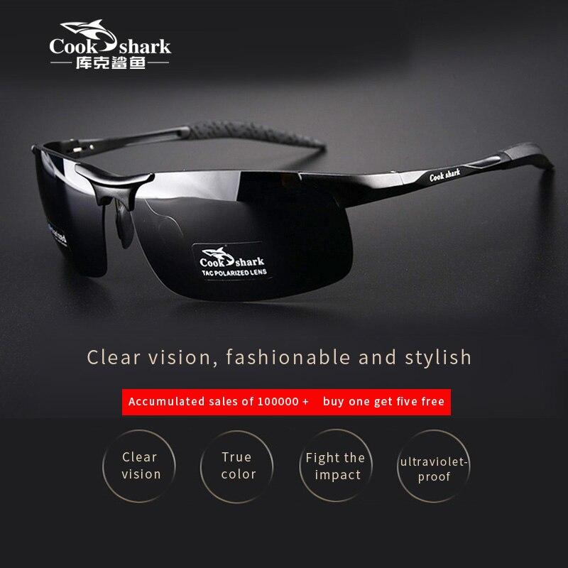 Cook Shark's новые алюминиевые магниевые солнцезащитные очки мужские солнцезащитные очки HD поляризованные водительские цветные очки|Мужские солнцезащитные очки|   | АлиЭкспресс - Популярная одежда для мужчин с Али