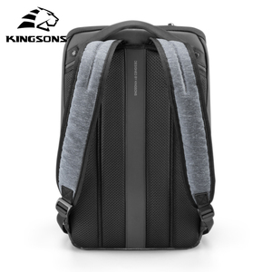 Image 2 - Kingsons Multifunction Men 15 inch Laptop Backpacks  Fashion Waterproof Travel Backpack Anti thief male Mochila school bags hot