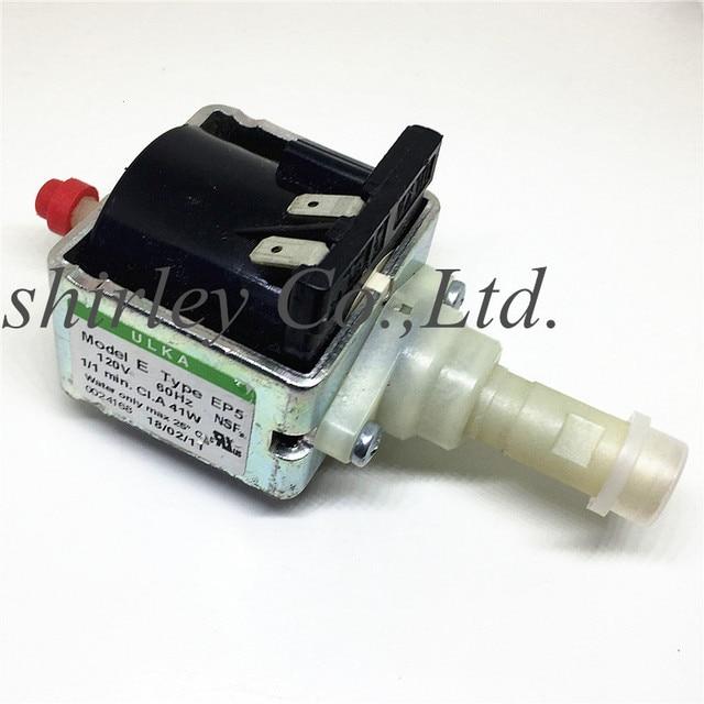 AC120V 60HZ เดิมแท้กาแฟเครื่องปั๊ม ULKA EP5 แม่เหล็กไฟฟ้า PUM ทางการแพทย์อุปกรณ์ซักผ้า Machi