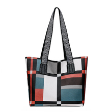 Pacthwork new women top handle casual tote bag multi color pu leather women shoulder bags big 2019 leather handbags women bags new arrival embossing women casual tote bags fashion pu leather ladies shoulder bag national style floral boston handle bags