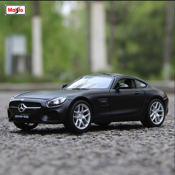 цена на Bburago 1:24 Mercedes-Benz AMG simulation alloy car model simulation car decoration collection gift toy