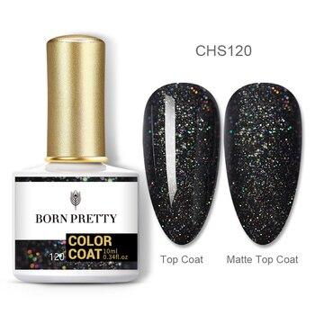 BORN PRETTY Nail Gel 120Colors 10ml Gel Nail Polish Soak Off UV LED Gel Varnish Holographics Shining Nagel Kunst Gellack 53
