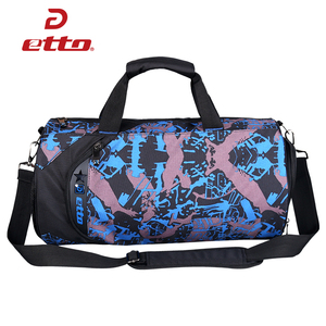 Image 2 - Etto wodoodporna torba na siłownię trening Fitness torba sportowa przenośna torba podróżna na ramię niezależne buty przechowywanie torba koszykarska HAB011