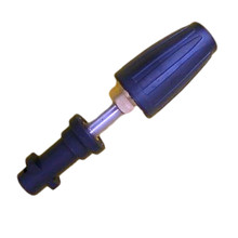 1/4''  360 Degree Rotary Nozzle Quick Connector Coupler Adapter For High Pressure Washer Lance Gun For Karcher K2 K3 K4 K5 K6 K7