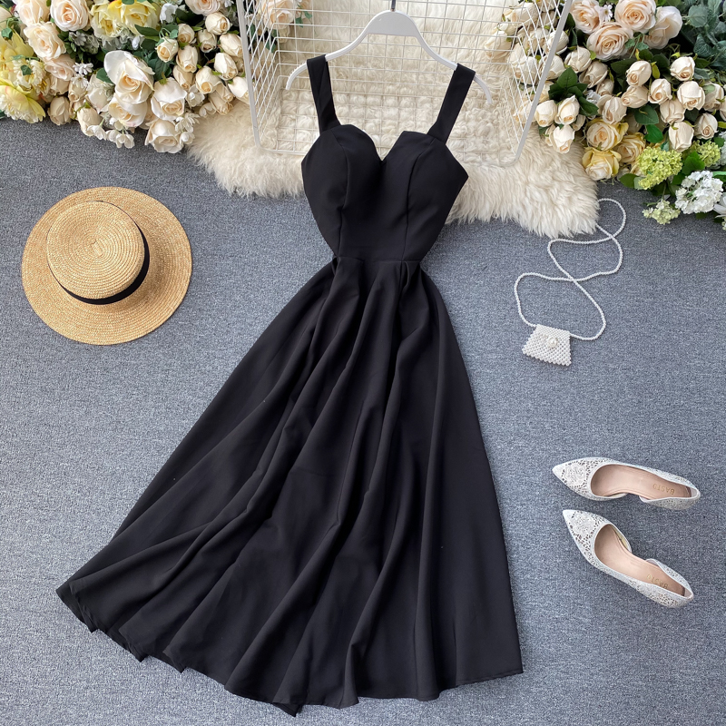 Elegant Vintage Sleeveless V-Neck Bandage Dress 31