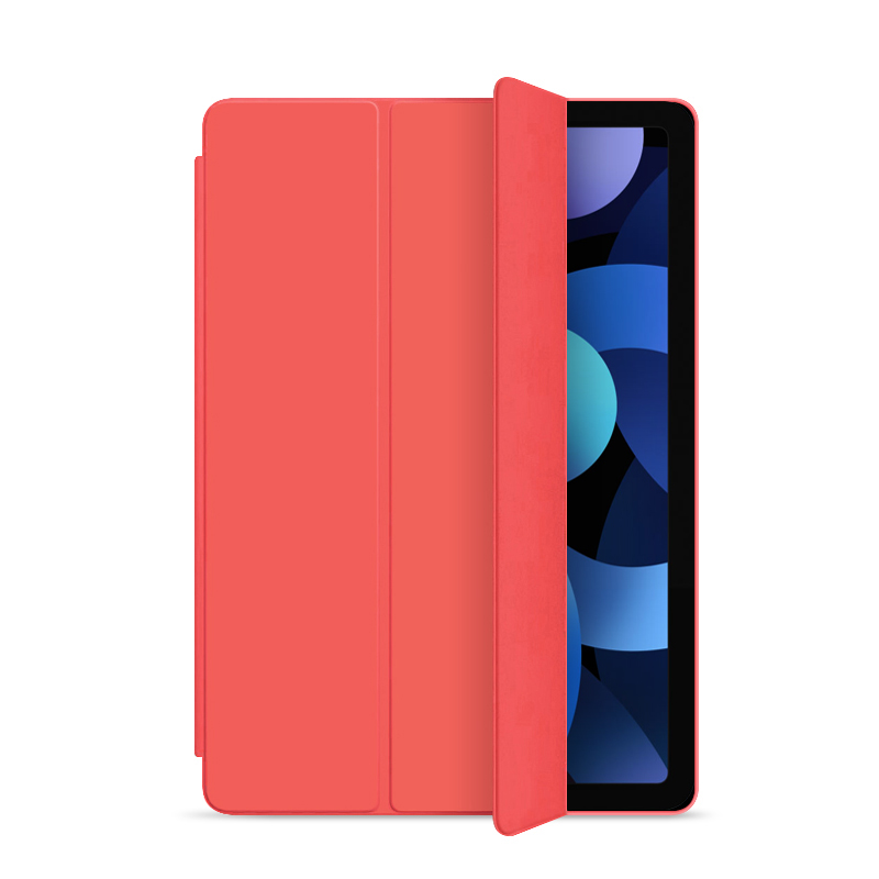 Red-Air 4 Gray Flip Case For iPad Air 4 10 9 2020 Silicone Cover For iPad Air 4th generation