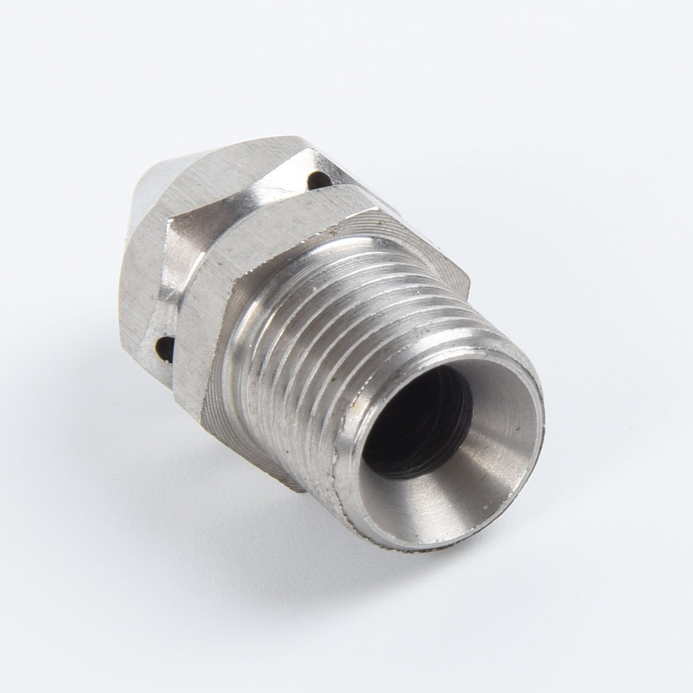 H8dd9dfa10c554950a6922decf0c87df51 1/4'' 3/8 '' Cleaning Nozzle Pressure Washer Drain Sewer Cleaning Pipe Jetter Spray Nozzle 4 Jet Garden Accessories Tools