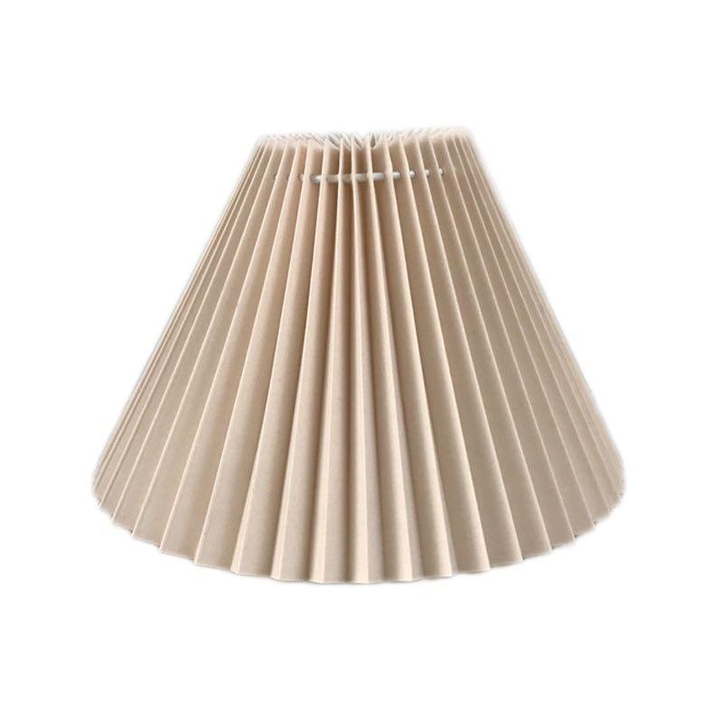 Pantalla de lámpara E27 Art Deco, nueva lámpara creativa de mesa, pantalla de lámpara de suelo, pantalla de desmontaje, pantalla de hierro, cubierta de lámpara de estilo moderno 2 piezas de lámpara de papel de pantalla blanca para colgar