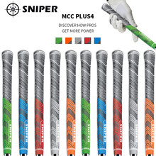 2016 Golf irons Grip Midsize and standard New Multicompound Golf club Grips Carbon Yarn 10pcs/lot Free shiping(China)