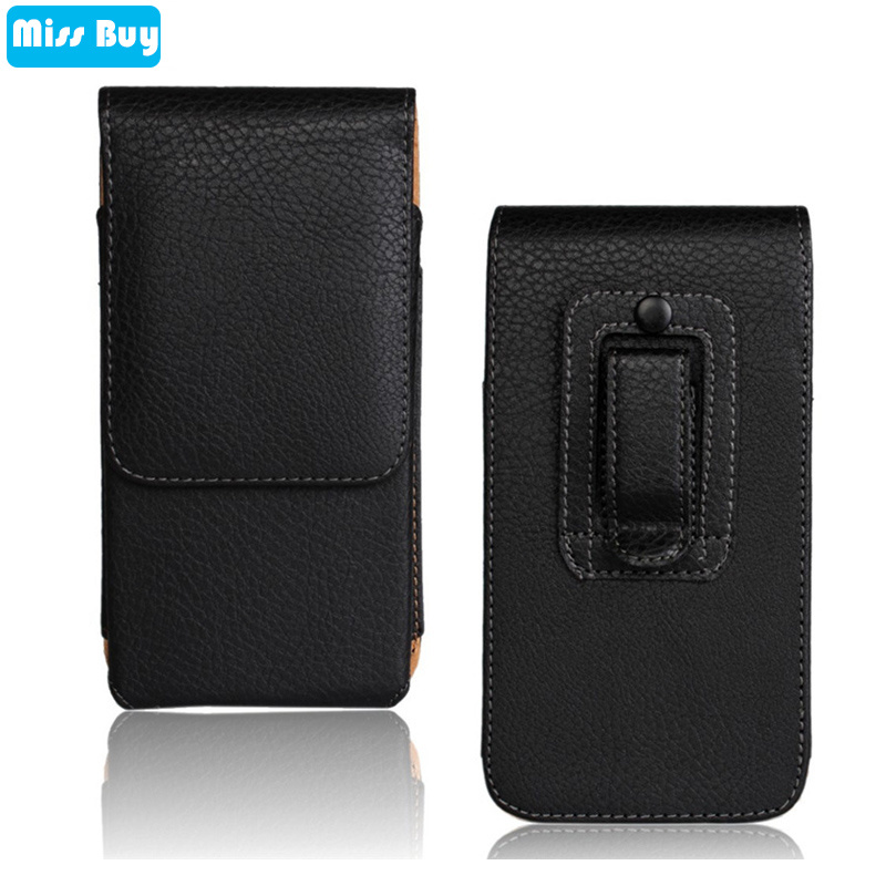 Universal Phone Pouch Leather Bag Flip Cover For LG G2 G3 G4 G5 G6 G7 G8 G8S G5S Q6 Q7 Q8 Q9 V10 V20 V30 Belt Clip Waist Case