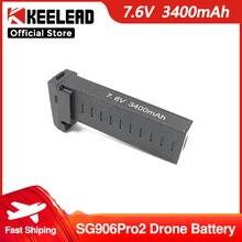 SG906 Pro Drone Battery 7.4V 2800mAh LED Battery or 7.6V 3400mAh for SG906 Pro2 Dron Spare Parts Battery