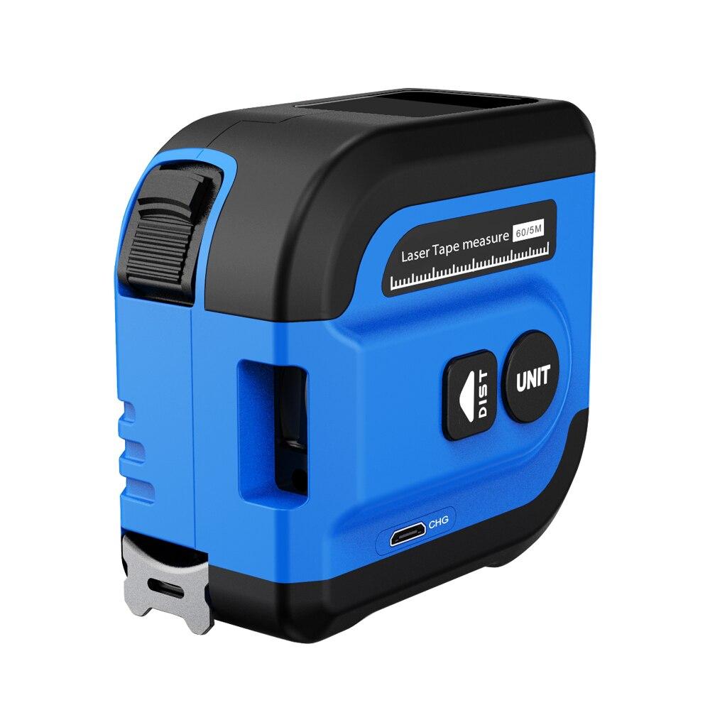 Survey Range Tape Tool Measure 2260L Distance 60M NF Rangefinder Retractable Digital Laser Ruler 5M Meter Finder Noyafa Area